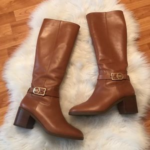 Michael Kors Tall Leather Boots